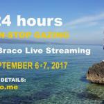 24 de ore de transmisiuni în direct cu Braco