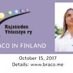 """Braco la Târgul """"Spirit şi cunoaştere"""" în Finlanda"""