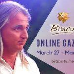 Sesiunile cu Braco continuă